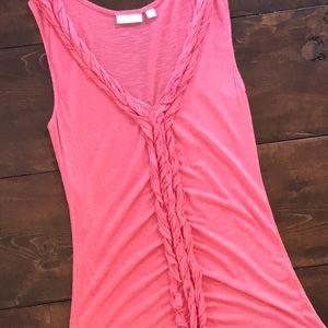 Pink Sleeveless shirt (L)